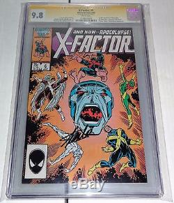 X-Factor #6 1st Appearance of Apocalypse CGC SS Signed STAN LEE 9.8 Sweet Book