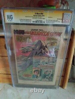 X-MEN 94 CGC NG signed by Stan Lee