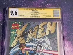X-Men #1 1991 9.6 CGC Stan Lee Jim Lee Claremont Signed Marvel Comic