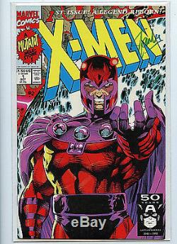 X-Men #1 D 1991 Signed by Stan Lee new Marvel Comics Amricons