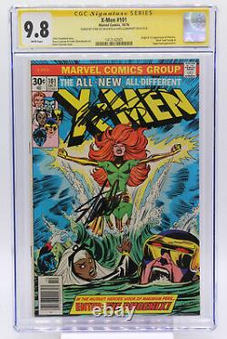 X-Men # 101 CGC 9.8 Origin and 1st appearance of Phoenix Signed by Stan Lee