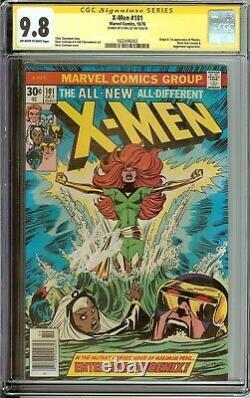 X-men 101 CGC 9.8 SS Signed Stan Lee Phoenix Uncanny