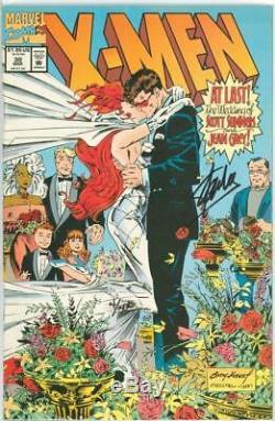 X-men #30 Dynamic Forces Signed Stan Lee Df Coa #4 Cyclops Wedding Marvel Comics